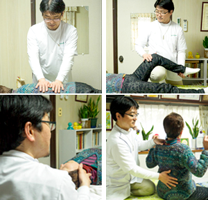 3.施術と体操